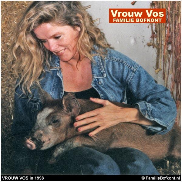VROUW VOS in 1998